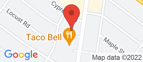 Branch Location Map - TD Bank, Warminster Branch, 450 York Road, Warminster PA