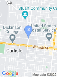 Dickinson College map
