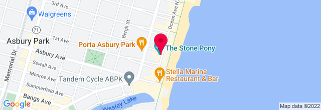 Map for The Stone Pony
