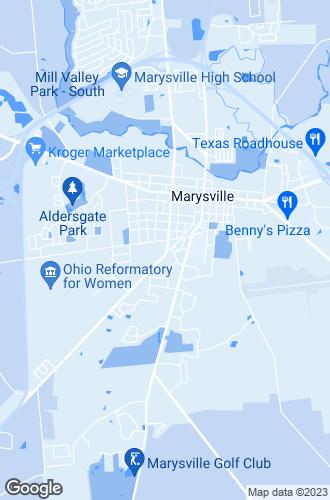 Map of Marysville