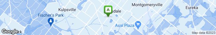 Map of Joa Sushie Cafe