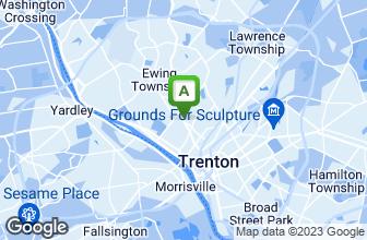Map of Philadelphia Pizza