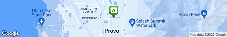 Map of Brick Oven Restaurant