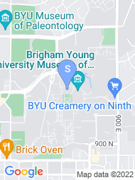 Brigham Young University map