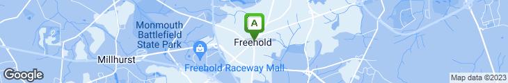 Map of Federici's Pizzeria