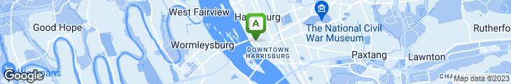 Map of Firehouse Restaurant & Bar