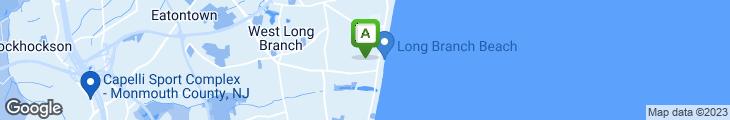 Map of Brighton Pizza