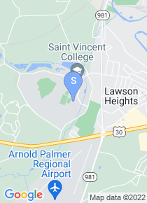 Saint Vincent College map