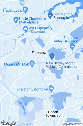 Map of Eatontown