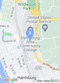 Harrisburg Area Community College map