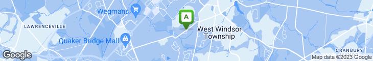 Map of Hot Wok Cafe