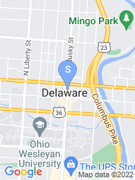 Ohio Wesleyan University map