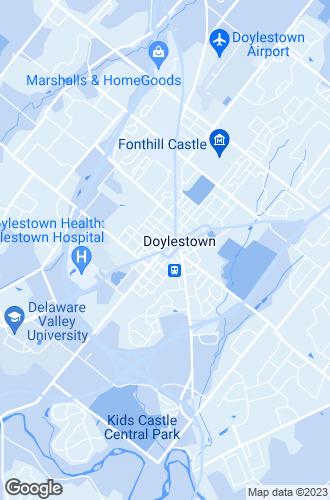 Map of Doylestown