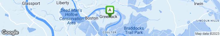 Map of Greenock Deli