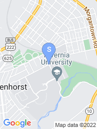 Alvernia University map