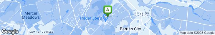 Map of Pizza Bene
