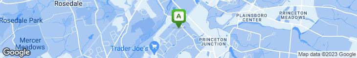 Map of Crystal Garden Restaurant