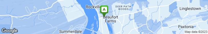 Map of Isaac's Restaurant & Deli