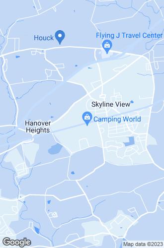 Map of Harrisburg