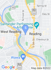 Reading Area Community College map