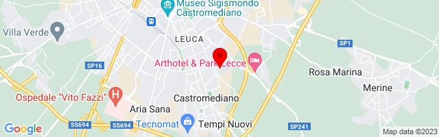 Google Map di 40.33704,18.18325