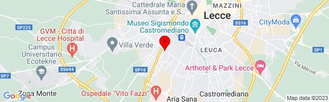 Google Map di 40.34231244080686,18.160083889961243