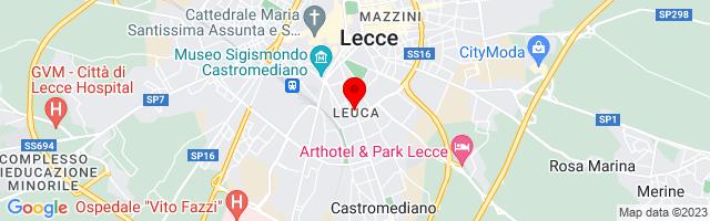 Google Map di 40.34282,18.17547