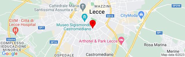 Google Map di 40.343731207672874,18.175055980682373