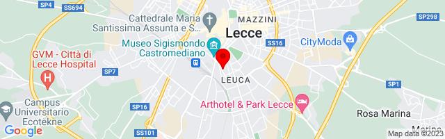 Google Map di 40.3445706,18.1724833