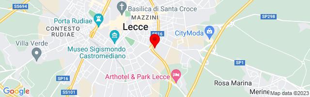 Google Map di 40.345593,18.184565