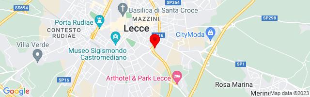 Google Map di 40.346069,18.184257