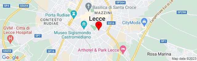 Google Map di 40.34637,18.17848