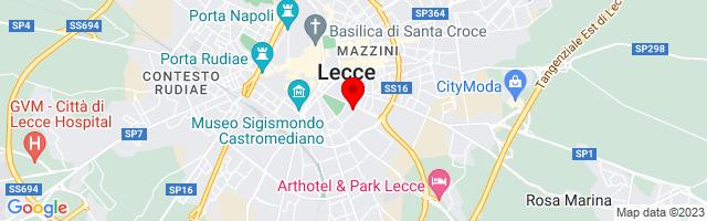 Google Map di 40.346963,18.178756