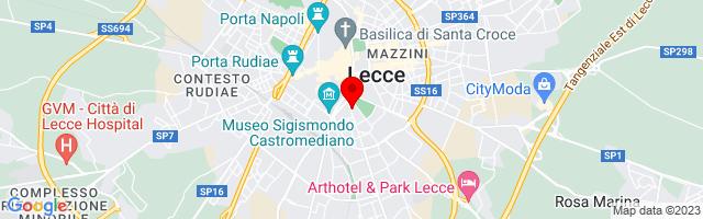 Google Map di 40.3473945137987,18.173789978027344