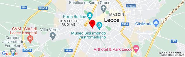Google Map di 40.34757440317104,18.16615104675293