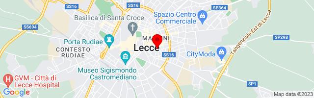Google Map di 40.3511,18.18141
