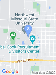 Northwest Missouri State University map