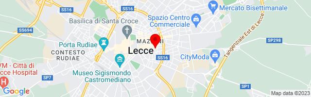 Google Map di 40.35205512907911,18.18286657333374
