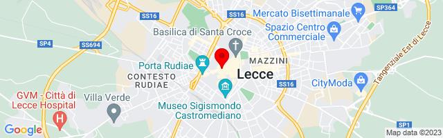 Google Map di 40.35245,18.16934