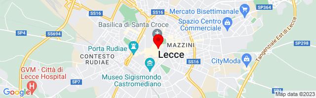 Google Map di 40.35292998060431,18.17311406135559