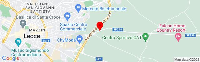 Google Map di 40.35362,18.21516