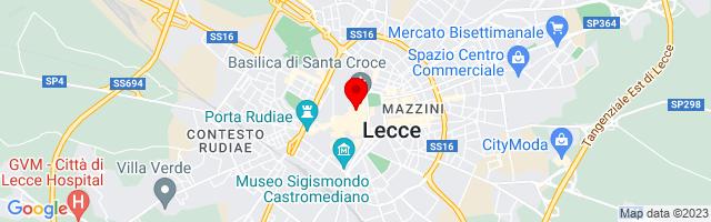 Google Map di 40.35373941256118,18.17208409309387