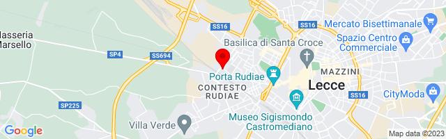 Google Map di 40.354449,18.152092