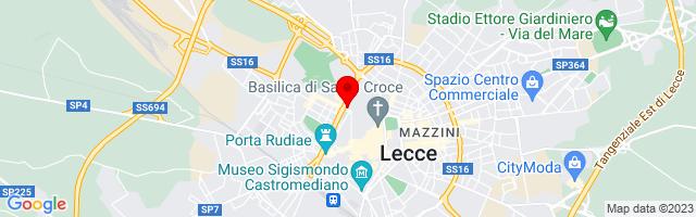 Google Map di 40.356878935492404,18.168039321899414