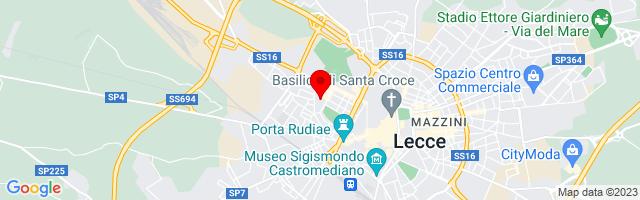 Google Map di 40.35692,18.16062