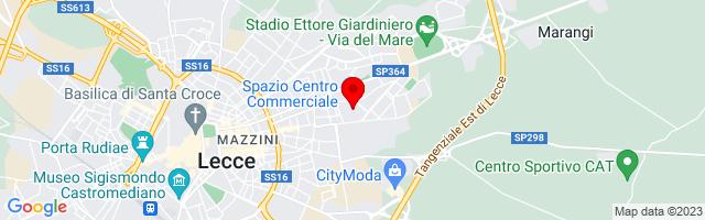 Google Map di 40.35748393092475,18.19732904434204
