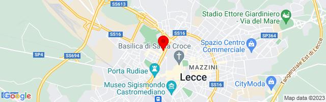 Google Map di 40.3582437,18.1674785