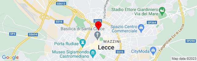 Google Map di 40.35874,18.17337