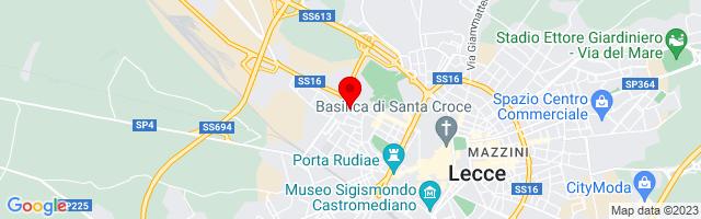 Google Map di 40.359120,18.157813
