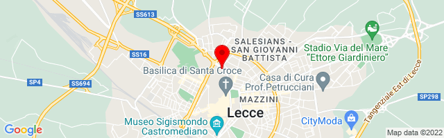 Google Map di 40.35972,18.1719
